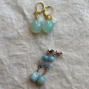Gemstone Earrings Set